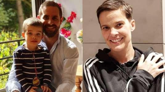 Viudo de Javiera Suárez cuenta cómo lo hace para criar a su hijo