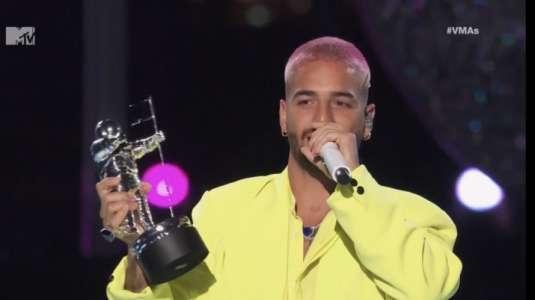 La venganza de Maluma a Neymar en los premios MTV VMA's
