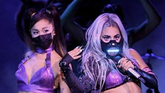 Lady Gaga y Ariana Grande transportaron los MTV VMA's al mundo de Chromatica