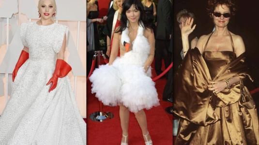 Los 10 looks más polémicos y comentados de los Premios Oscar