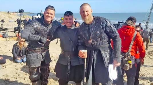 """Este es el chileno que fue extra en la última temporada de """"Vikingos"""""""