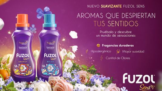 Conoce Fuzol Sens, el nuevo suavizante que llega a despertar tus sentidos