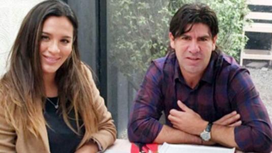 Marcelo Salas y Gianella Marengo fueron víctimas de portonazo