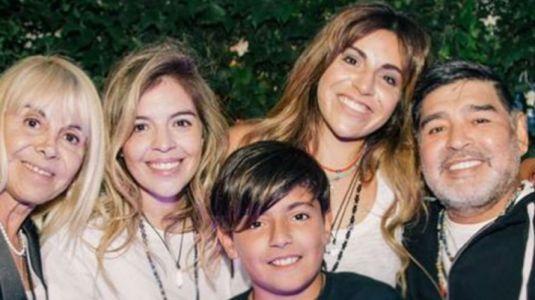 La historia de los 11 hijos de Diego Armando Maradona