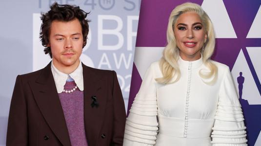 Harry Styles y Lady Gaga deslumbran con el mismo traje de diseñador