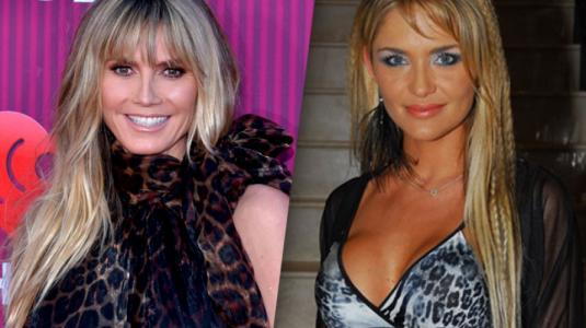 Heidi Klum también sorprende con maquillaje a lo Kenita Larraín