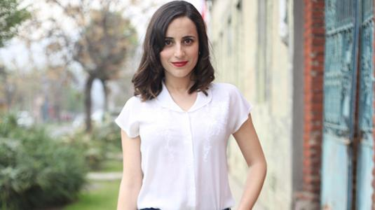 Camila Hirane comparte su elegante outfit para ir de compras en cuarentena