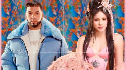 Canción de Shakira y Anuel AA genera opiniones divididas