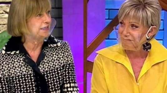 Evelyn Matthei le entrega su apoyo a Raquel Argandoña en su regreso a la televisión
