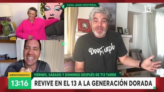 """Juan Cristóbal Guarello hizo reir a Pancho Saavedra con broma sobre las """"cazuelas"""""""