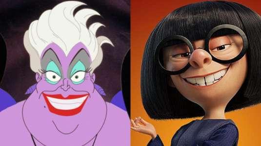 7 personajes animados de Disney inspirados en famosos