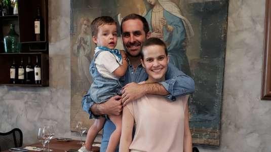 Viudo de Javiera Suárez relata el complejo embarazo que tuvo la periodista