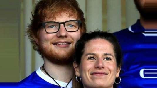 Ed Sheeran se convertiría pronto en padre