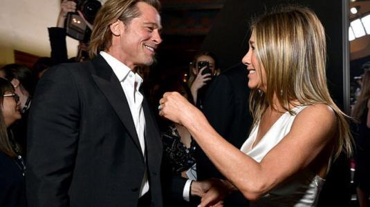 Courteney Cox fue quien juntó a Brad Pitt con Jennifer Aniston