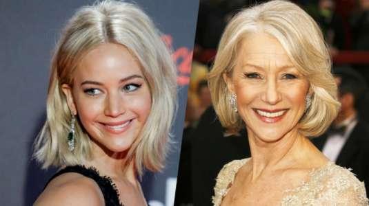 La teoría conspirativa que asegura que Jennifer Lawrence y Helen Mirren serían la misma persona
