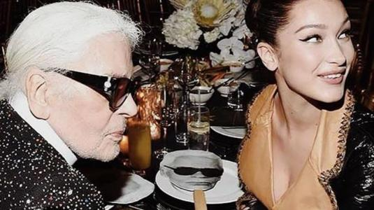 Celebridades lloran la partida de Karl Lagerfeld