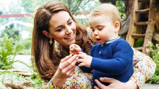 Kate Middleton reveló la primera palabra que dijo el príncipe Louis de dos años