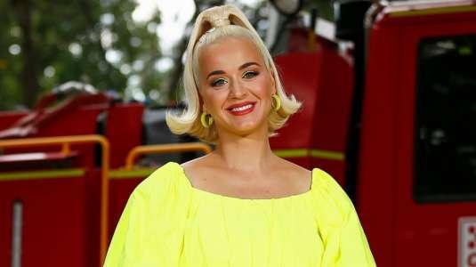 Katy Perry se muestra exhausta y con abultada pancita a poco de dar a luz