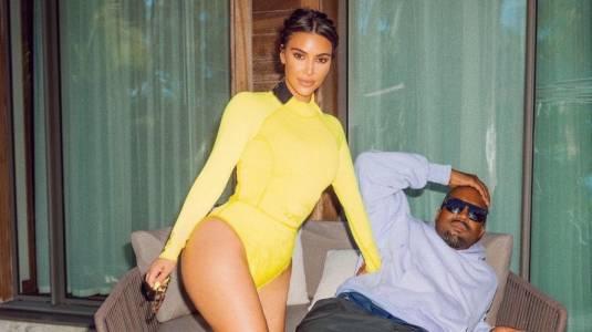 """Kim Kardashian y Kanye West estarían """"haciendo su vida separados"""""""
