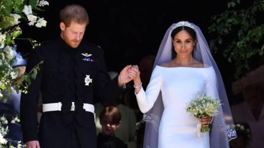 Meghan Markle revela que ella y Harry se casaron antes de la boda real