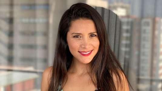 Loreto Aravena comparte sugerente imagen al salir de la ducha