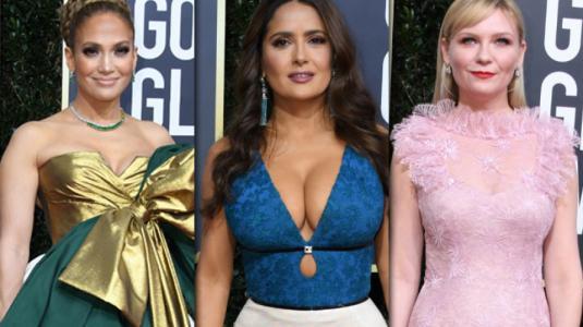 Los looks más criticados de los Globos de Oro