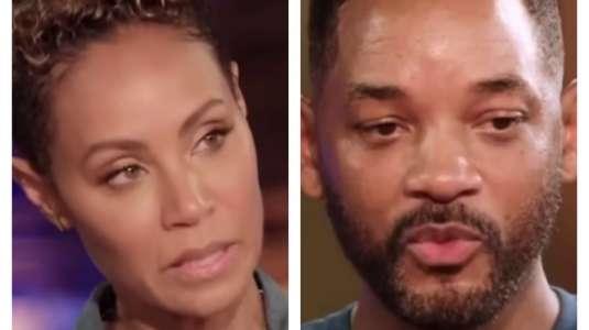 Jada Pinkett confiesa que le fue infiel a Will Smith