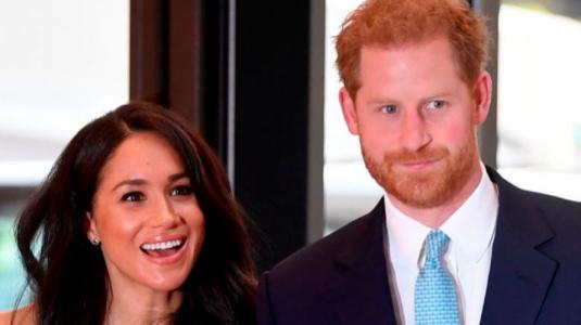 Meghan Markle y el príncipe Harry fueron captados en San Valentín