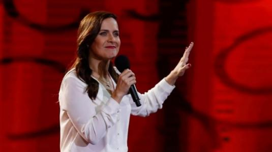 Natalia Valdebenito se refiere a la rutina de Sergio Freire en Viña 2018