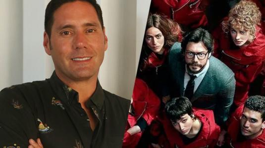 """Pancho Saavedra se reunió con actores de """"La Casa de Papel"""" para su programa"""
