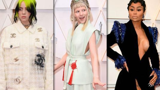 Los looks peor evaluados de los Premios Oscar 2020