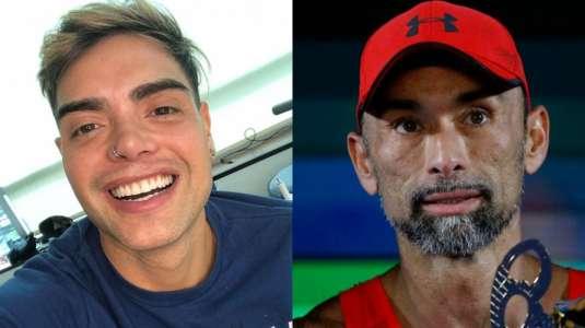 Nelson Mauri desafía a Chino Ríos a abrirse de piernas en dificultoso challenge
