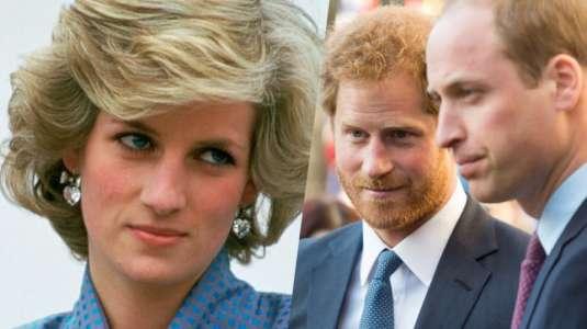 William y Harry estarían furiosos por polémico documental sobre la princesa Diana