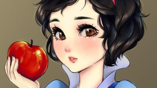 FOTOS: Así serían las princesas de Disney al estilo anime