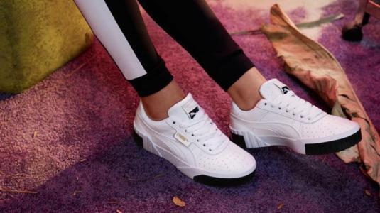 """Zapatillas """"Cali"""", el exitoso modelo de """"Puma"""" se renueva y apuesta por el color"""