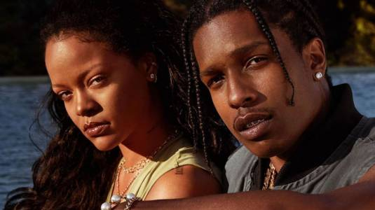 Las primeras fotos de Rihanna con nuevo amor ASAP Rocky