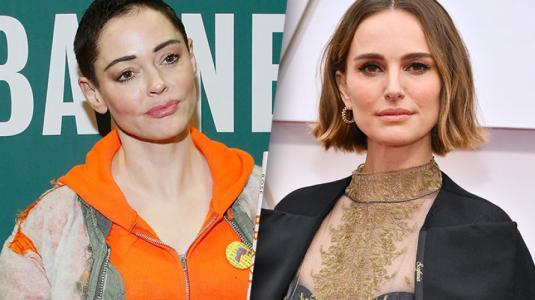 Rose McGowan critica la protesta feminista de Natallie Portman en los Oscar
