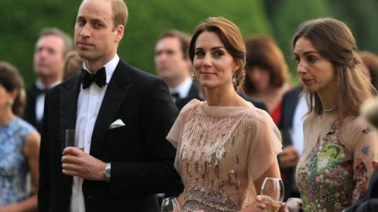 El operativo que separó en evento a Kate Middleton de supuesta amante del príncipe William
