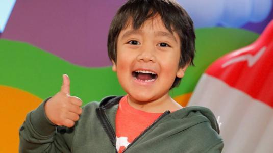 Él es Ryan Kaji, el niño de 8 años que más dinero gana en YouTube