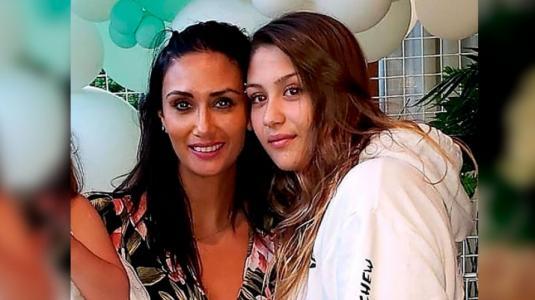 Hija de Pamela Díaz presentó a su pololo en redes sociales