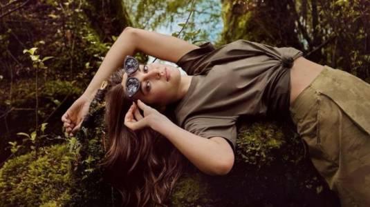 Shailene Woodley grabó una campaña en el sur de Chile