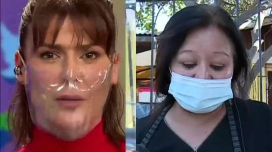 """Te pasaste"": Tonka Tomicic tiene gran gesto con vendedora ambulante"