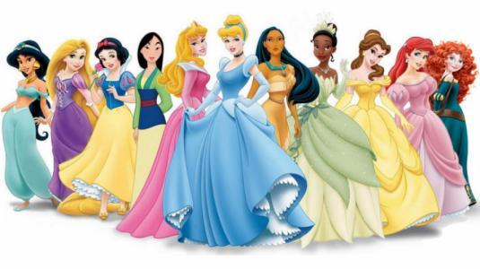 Famosas que se han inspirado en princesas para vestirse