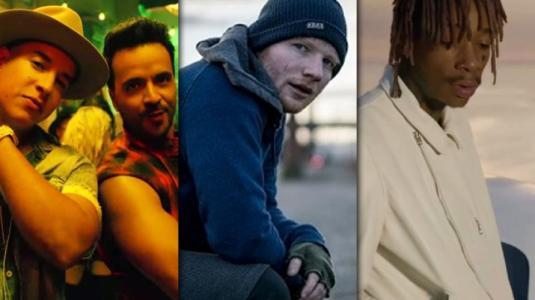 ¡Los 10 videos musicales más vistos de la década!