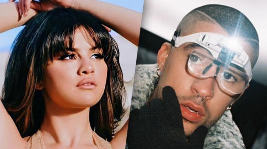 """Bad Bunny cuestiona el """"lado latino"""" de Selena Gomez"""