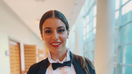 El jugado look de Isabela Souza para Viña 2020