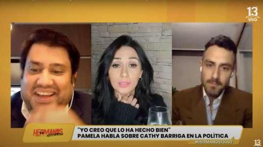 Pamela Díaz se retiró abruptamente de transmisión junto a Marcelo Marocchino y Nacho Pop
