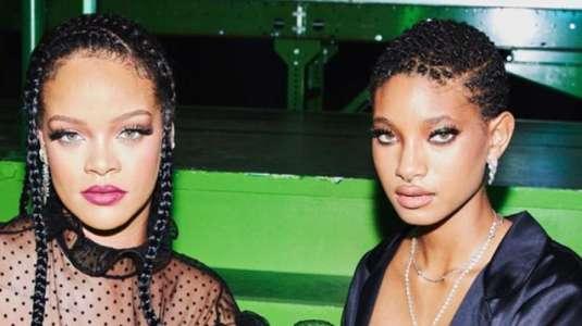 La hija de Will Smith deslumbró a todos en el desfile de Rihanna