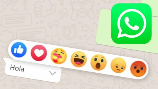 WhatsApp planea estrenar las reacciones en sus mensajes