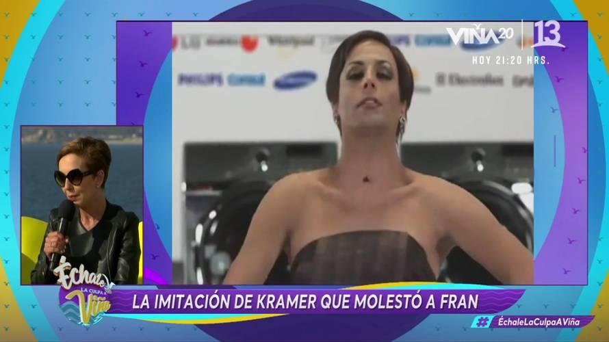 La imitación de Kramer que molestó a Francisca García Huidobro